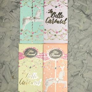 Too Faced La Belle Carousel Palettes